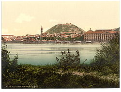Hainburg around 1900