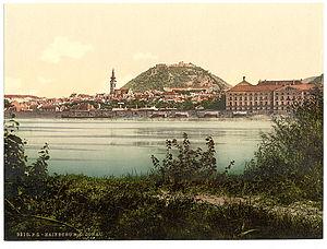 Hainburg an der Donau - Hainburg around 1900