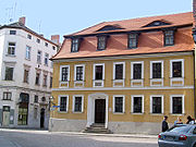 House in Halle where Handel was born