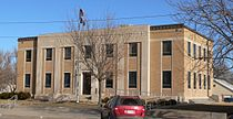 Hamilton County Courthouse (Kansas) from SW.JPG