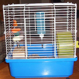 Cage - A cage designed to contain small animals