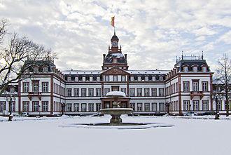 Hanau-Münzenberg - Philippsruhe Castle in Hanau