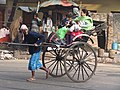 Hand Pulled Rickshaw - Dalhousie Square South - Kolkata 2011-12-18 0134.JPG
