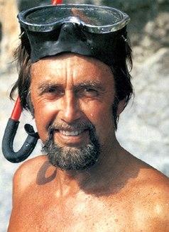 Hans Hass Austrian biologist, film-maker, and underwater diving pioneer