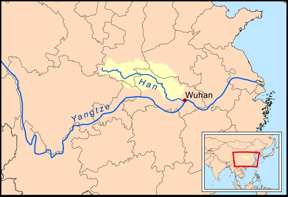 Hanshuirivermap