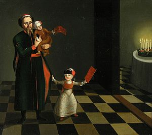 Kislev - Image: Hanukkah 18th century