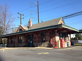 Warminster Line - Hatboro was the extent of electrified service until 1974