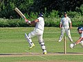 Hatfield Heath CC v. Netteswell CC on Hatfield Heath village green, Essex, England 18.jpg