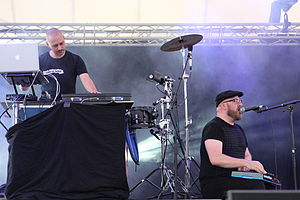 Haujobb - Haujobb at Blackfield Festival 2014, Germany
