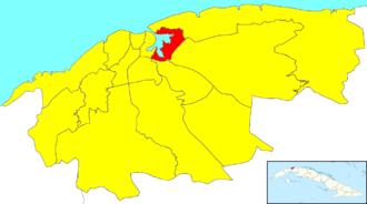 Regla - Image: Havana Map Regla