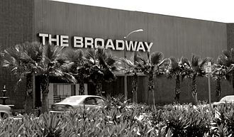 The Broadway - A former The Broadway department store at the Hawthorne Plaza Shopping Center in Hawthorne, California