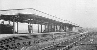 Hazel Grove railway station (Midland Railway)
