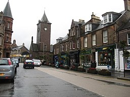 Heading east on Crieff's High Street - geograph.org.uk - 3152513.jpg
