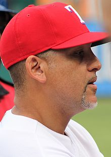Hector Ortiz coach Texas Rangers May 2016.jpg