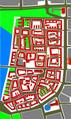 Heilbronn Aufbauplan der Altstadt 1948 Ergebnis der Planer Hans Volkart, Karl Gonser und des Wettbewerbs.PNG
