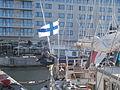 Helena Flag Tallinn Harbour 3 October 2015.JPG