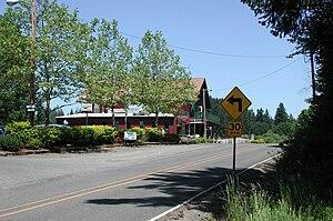 Helvetia, Oregon - Helvetia Tavern along Helvetia Road