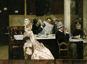 Café Scene in Paris