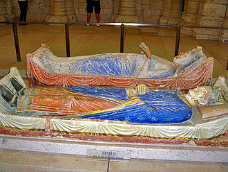 Angevin kings of England - Tomb of Henry and Eleanor in Fontevraud Abbey