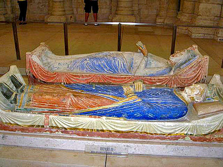 Tomb of Henry and Eleanor in Fontevraud Abbey Henry-eleanor-tomb.jpg