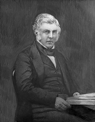 Henry Sewell - Henry Sewell in 1856