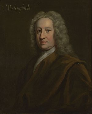 British general election, 1727 - Image: Henry St John, 1st Viscount Bolingbroke (1678 1751)