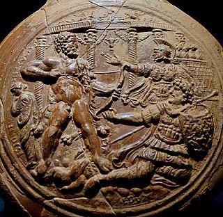 Trojan king, son of Ilus