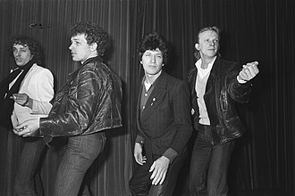 Dany Lademacher - L.t.R.: Ani Meerman, Freddie Cavalli, Herman Brood and Dany Lademacher  (Wild Romance, 1979)
