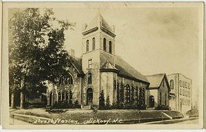 First Presbyterian Church (Hickory, North Carolina) - Image: Hickory NC Presby PHS1049