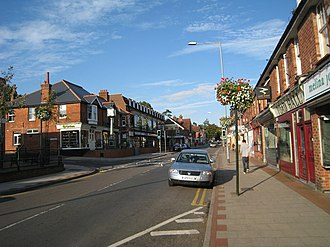 Heathfield, East Sussex - Image: High Street, Heathfield, East Sussex