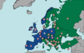 Highway speed limits europe with indicator colors.png