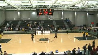 Hillhouse High School - Floyd Little Athletic Center after a high school basketball game