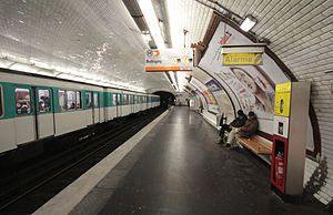 Hoche (Paris Métro) - Image: Hoche 2