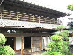 Ujō Noguchi - Noguchi's birth home in Isohara, Kitaibaraki