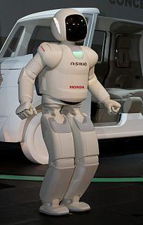 ASIMO humanoid robot created by Honda