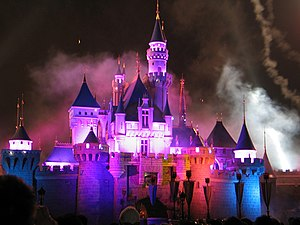 Hong Kong Disneyland castle by Dave Q