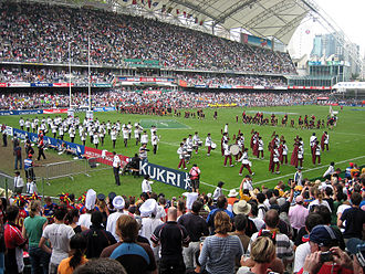 Rugby sevens - March Past of Hong Kong Sevens 2008