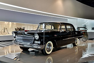Automotive industry in China - Hongqi CA72 (1959)