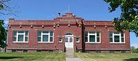 Hooker County, Nebraska courthouse from E.JPG