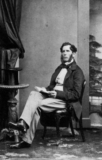 Edward Horsman - Edward Horsman, by Southwell Brothers,   c. 1862–1864.
