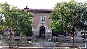 Old Post Office (Hot Springs, Arkansas) - Image: Hot Springs Post Office 001