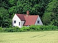 House across wheatfield from Greenhill, Hatfield Broad Oak, Essex England.jpg