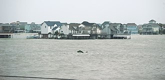 Hurricane Ike - Flooding in Galveston, Texas