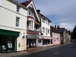 Hurstpierpoint - Image: Hurstpierpoint High Street