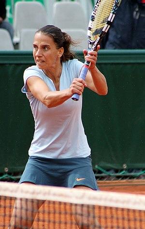 Janette Husárová - Husárová at the 2013 French Open