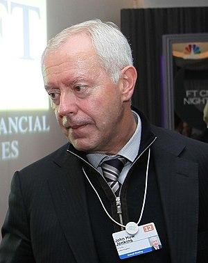 Huw Jenkins - Huw Jenkins at the Financial Times CNBC Davos Nightcap, 26 January 2012
