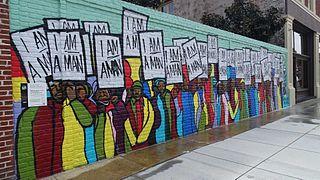 I'm a Man Mural in Memphis 2