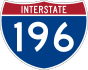 Interstate 196 marker
