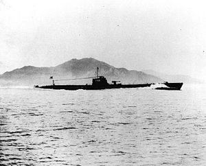 USS Scamp (SS-277) - I-168 in March 1934