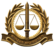 IDF Military Advocate General Hat Badge-since 2014.png